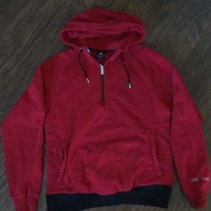 Like new Jordan sweatshirt with 1/4zipper